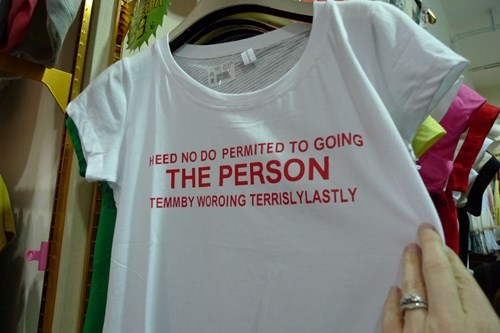 t shirts poorly dressed translation g rated