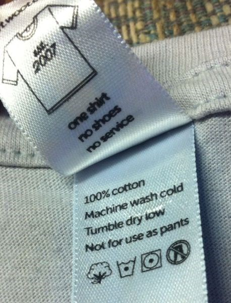 poorly dressed label t shirts g rated - 8074030848