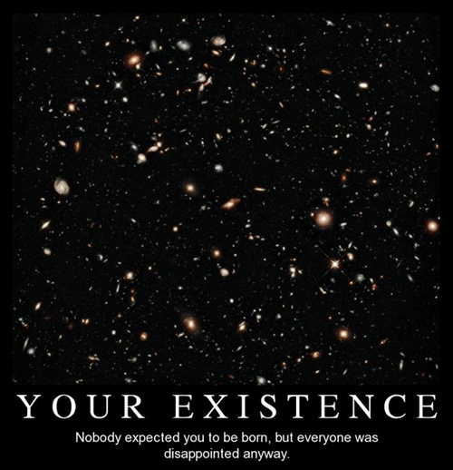depressing existence funny idiots - 8074105088