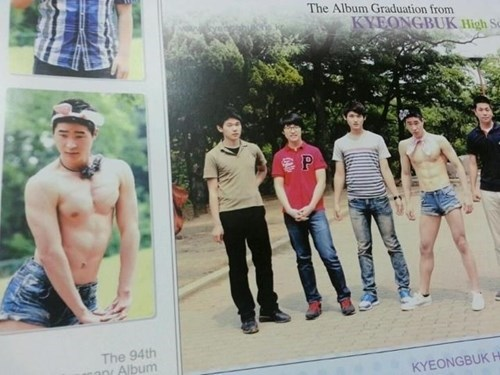 Barechested - The Album Graduation from KYEONGBUK High Sc P The 94th Album KYEONGBUKH