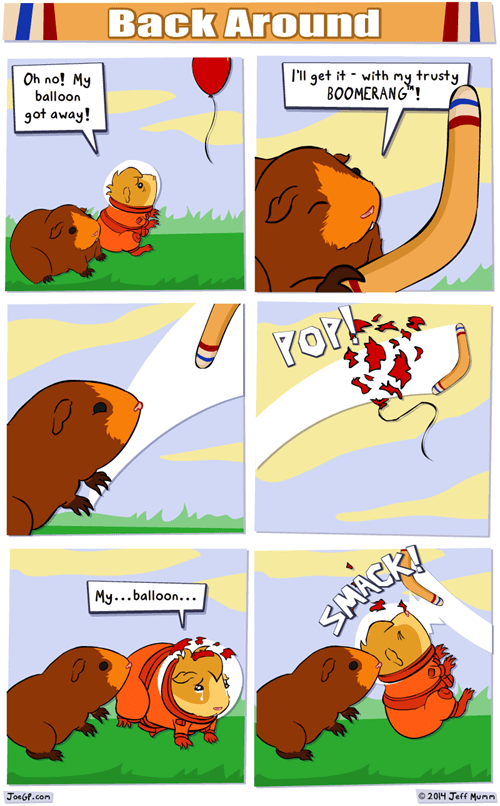 Balloons cute web comics - 8074230784