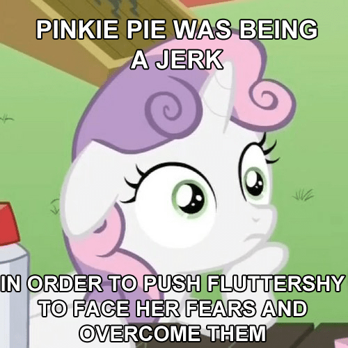 stage fright,Sweetie Belle,pinkie pie