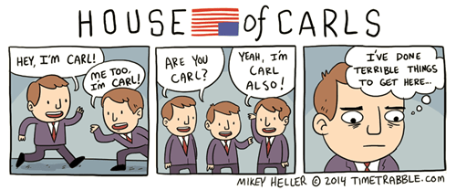 house of cards names web comics - 8074450432