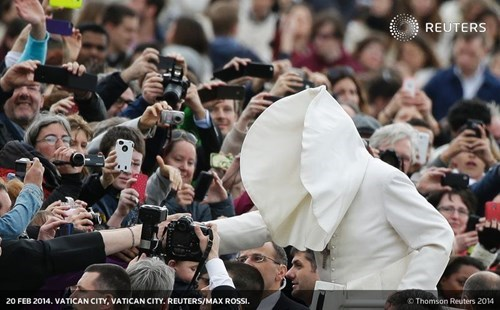 religion pope Perfect Timing pope francis - 8074462976