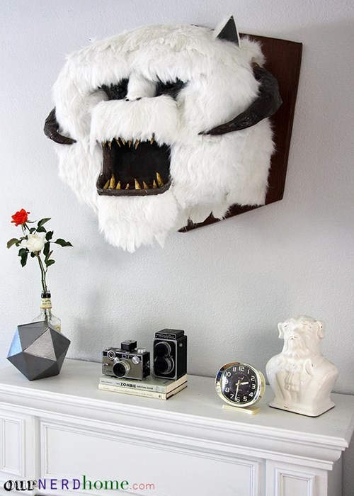 No Home Is Complete Without a Stuffed Wampa Head