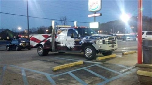 murica eagle paint jobs freedomobiles trucks - 8074569216