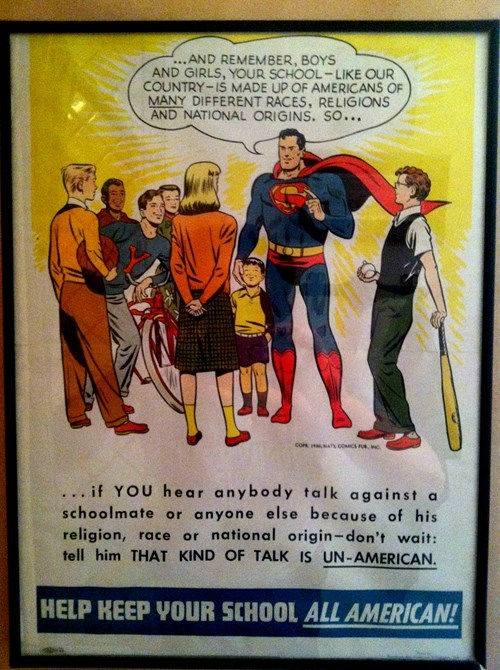 Superman is a True American