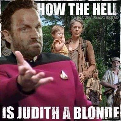 Rick Grimes Genetics lil ass kicker The Walking Dead - 8074597632