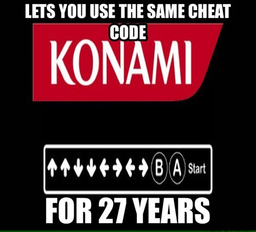 konami code,konami