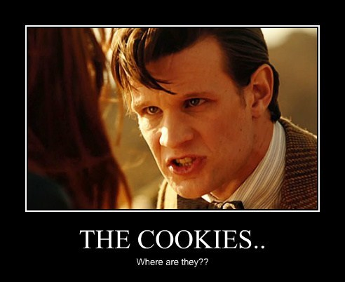 THE COOKIES.. Where are they??