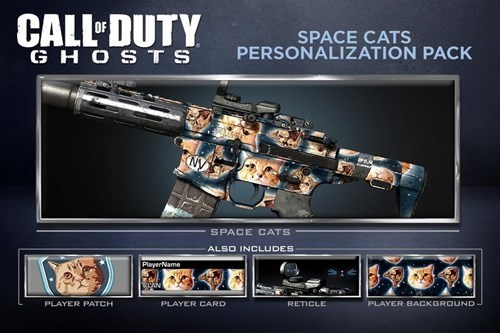call of duty,wtf,call of duty ghosts,DLC,Cats