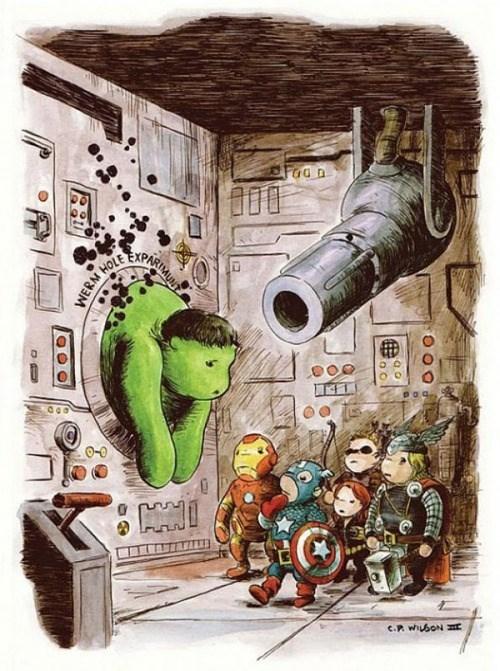 the hulk winnie the pooh avengers - 8075560960