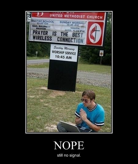 god sign wifi church funny - 8075760128