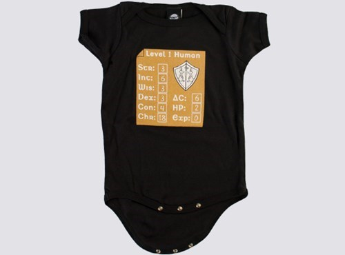 onesie baby parenting dungeons and dragons - 8075890432