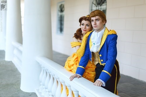 Beauty and the Beast disney cosplay - 8075902464
