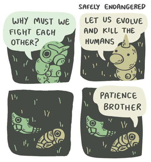 caterpie,safely endangered,metapod,weedle,kakuna,web comics
