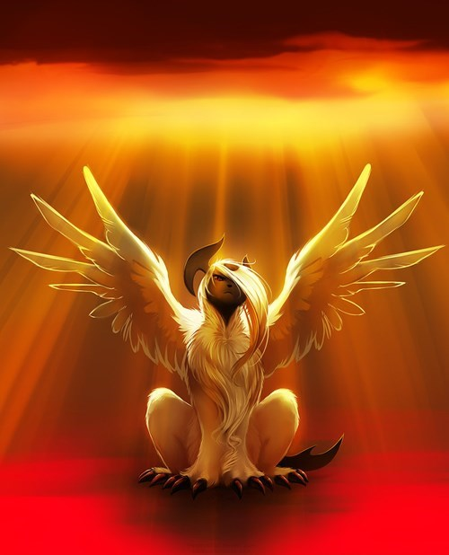 Pokémon sephiroth Fan Art mega absol - 8075904768