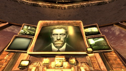 house,fallout,mr-house,mods,hugh laurie,video games,fallout new vegas