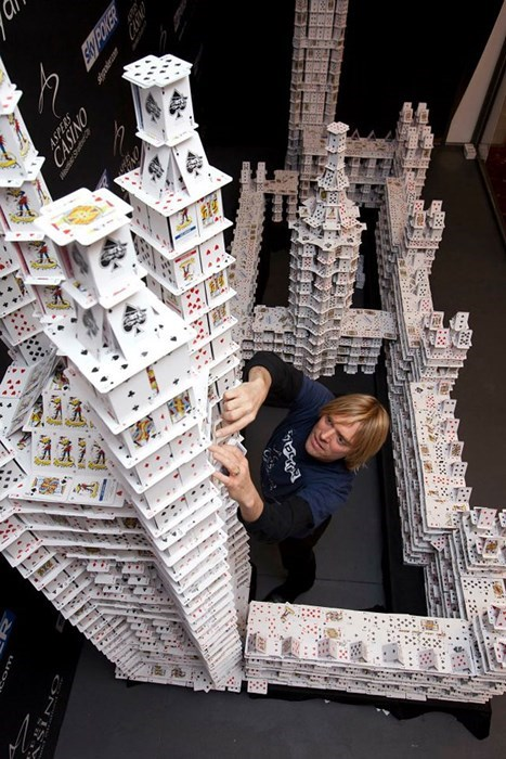 house of cards cards stacking - 8075965184