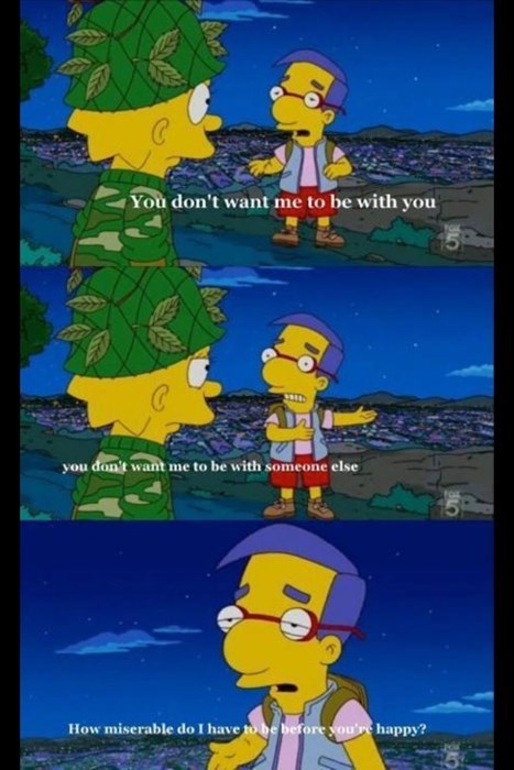 young love Millhouse the simpsons funny - 8075969792