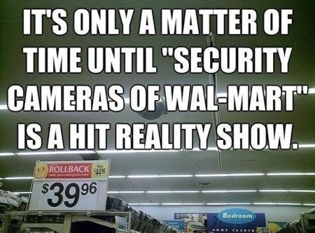 Walmart security cameras - 8075992576