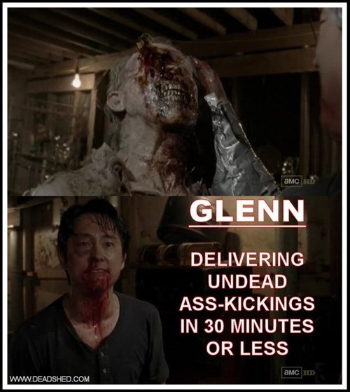 zombie Glenn Rhee The Walking Dead - 8076047360