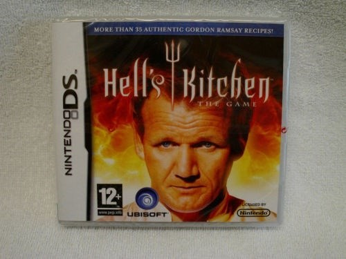 wtf hells-kitchen nintendo ds - 8076142080