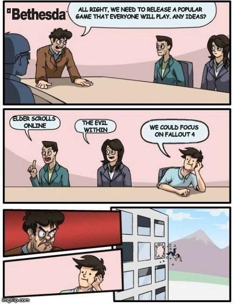 bethesda Memes video game logic - 8076236032