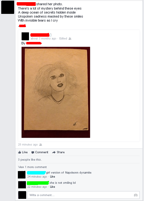 cringeworthy artwork of girl