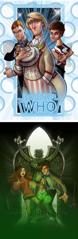 11th Doctor Fan Art classic who - 8077263104