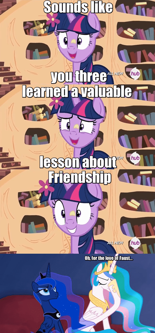friendship lesson twilight sparkle princess celestia