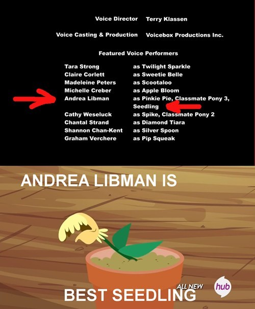 plants voice acting mlp season 4 - 8077610240