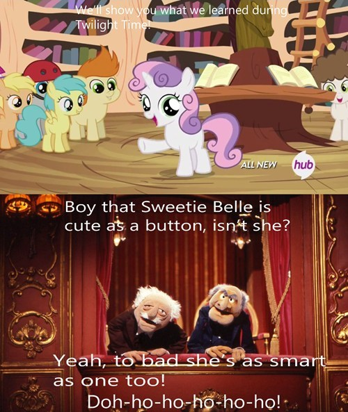dummy Sweetie Belle muppets - 8077929472