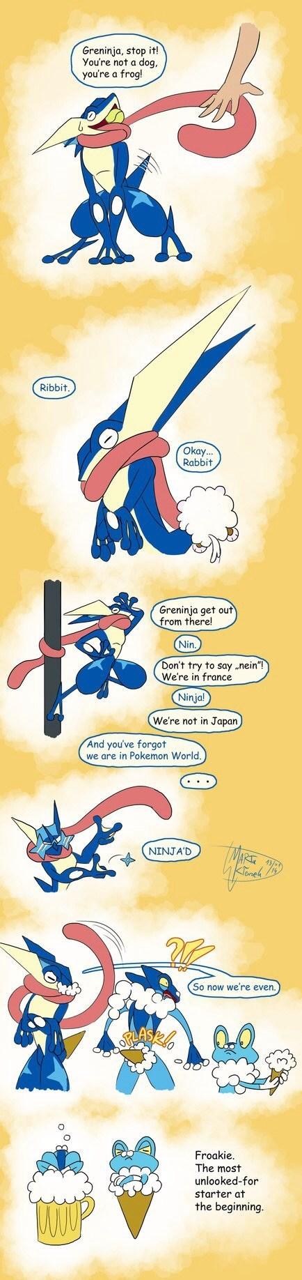 Pokémon greninja - 8078215424