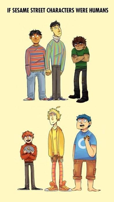 comics,Sesame Street