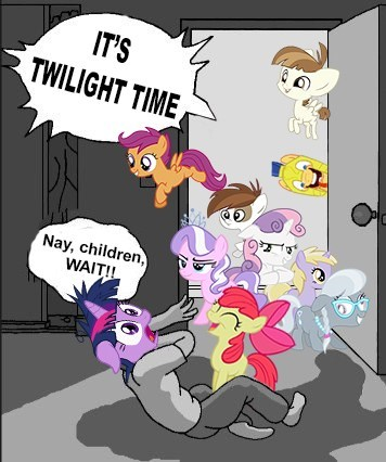 twilight sparkle,cutie mark crusaders,colt,filly