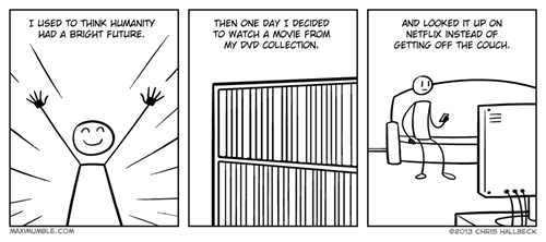 lazy netflix web comics
