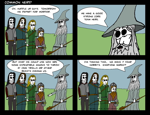 Lord of the Rings,web comics
