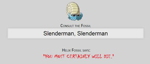 slenderman helix fossil - 8079466240