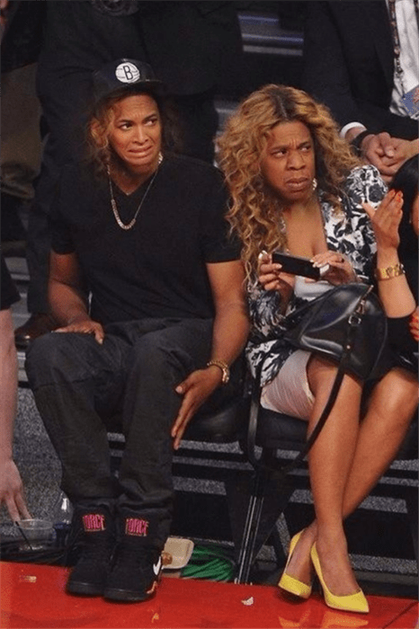 beyoncé face swap Jay Z drunk in love - 8079758336