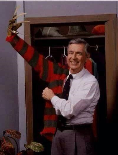 freddy krueger,nightmare fuel,mr rogers,secret