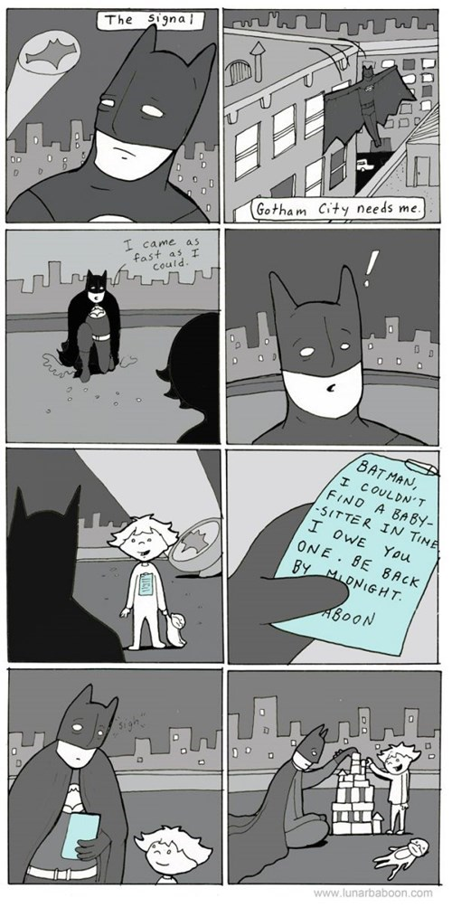 batman,comics,superheroes,web comics,lunar baboon