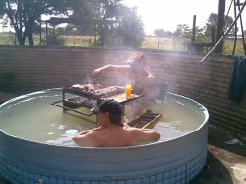 hot tubs grilling redneck ingenuity - 8079993088