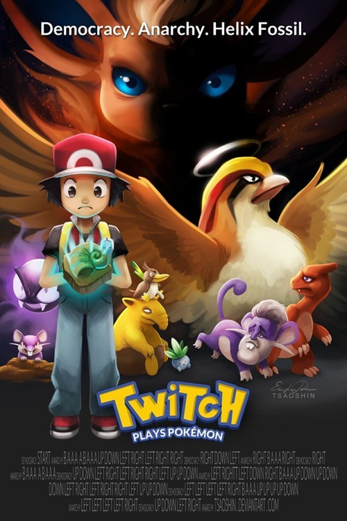 twitch plays pokemon - 8080129792