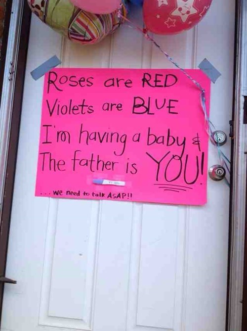 sign pregnancy poem parenting pregnant announcement - 8080551168
