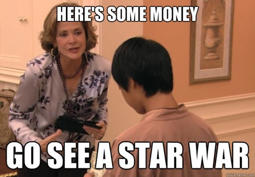 star wars,lame,arrested development,funny