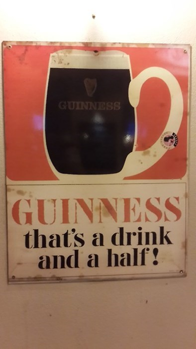 beer ads pint guinness vintage