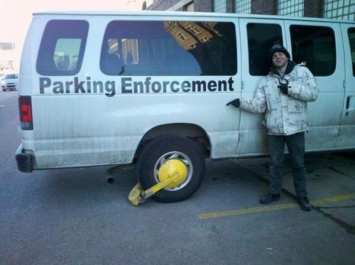 cars irony parking enforcement - 8080609280