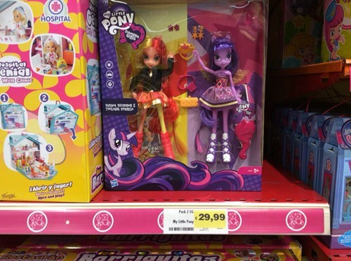 twilight sparkle Hasbro sunset shimmer - 8080670208