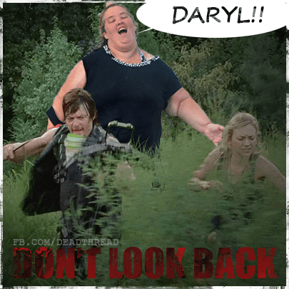 daryl dixon,honey boo-boo,The Walking Dead